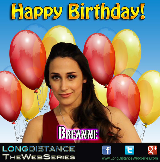 Happy Birthday Breanne